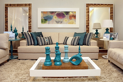 Mesas decorativas para sala fotos e imagens decora o - Mesas decorativas ...